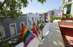 LGBT travelers on Safari - Cape Town's De Waterkant Village courtesy of 17 on Loader Guest House