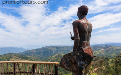 Some usefuluseful South African Zulu and Swahili words and phrases - Zulu man looking over landscape