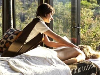 luxury safari spa wellness