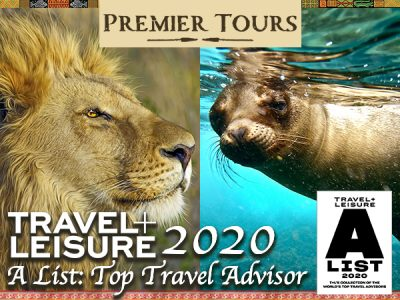 Premier Tours is on the 2020 Travel and Leisure A List