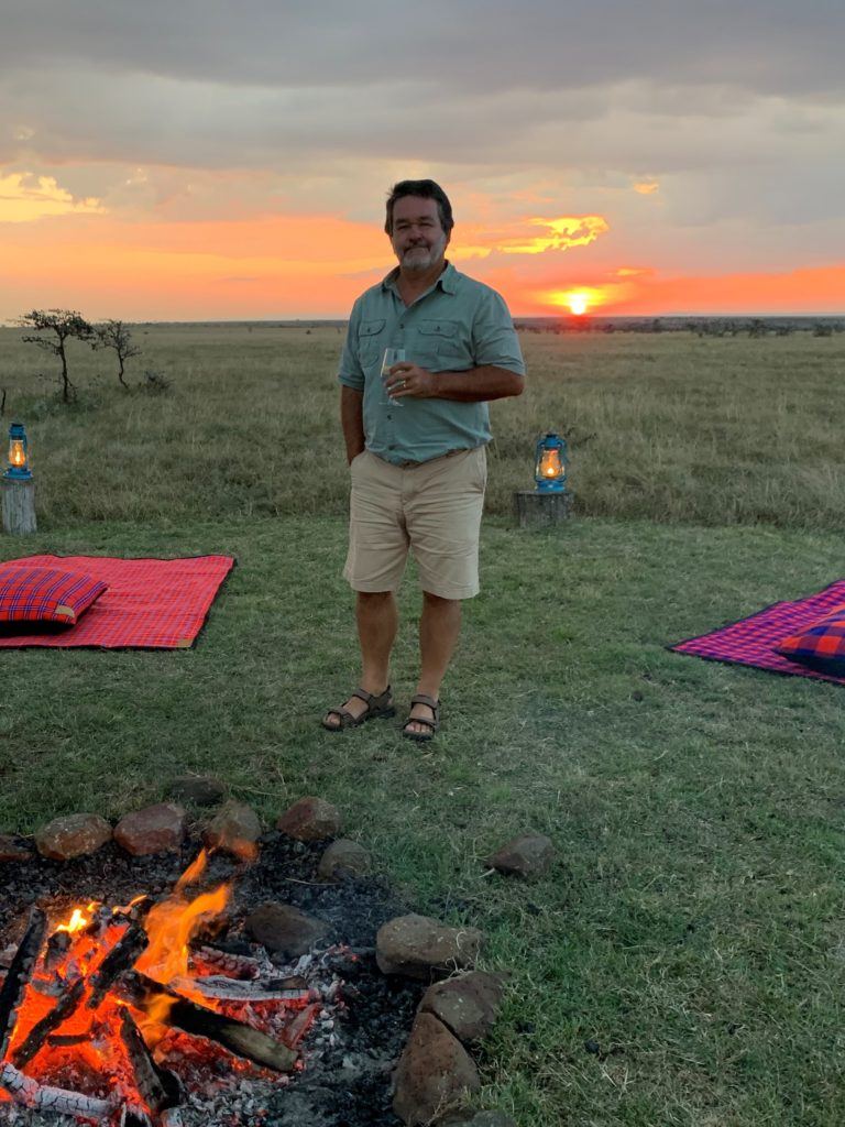 Julian on a Pristine Kenyan Safari